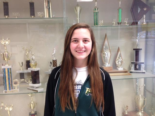 Michelle Anthonies (11) is excited for the girls basketball team to take on the season.