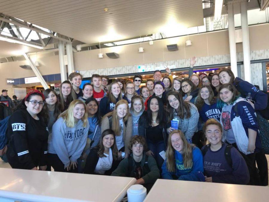 At Lambert Airport