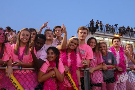 Student Section – Becky Jones _ Gad _ Eric Martel _ Allison Jokest _ Kara Wiehage