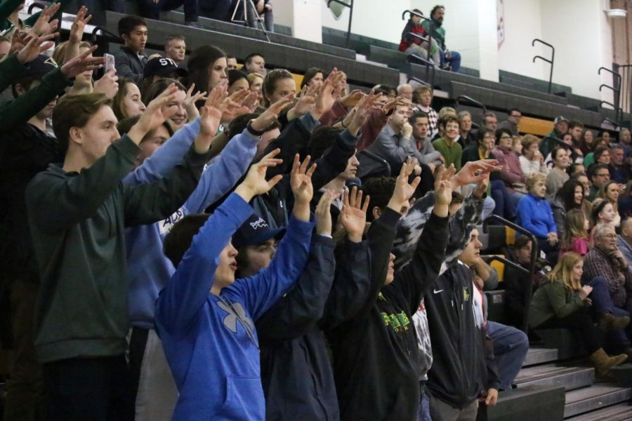 student section iv